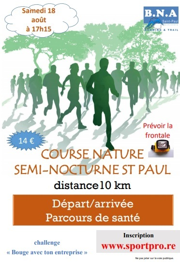 course nature semi nocturne